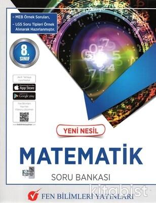 Fen Bilimleri Yayınları - 8.Sınıf Yeni Nesil Matematik Soru Bankası