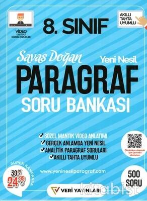 Veri Yayınları - 8.Sınıf Yeni Nesil Paragraf Soru Bankası