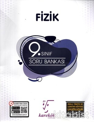 Karekök Yayınları - 9. Sınıf Fizik Soru Bankası