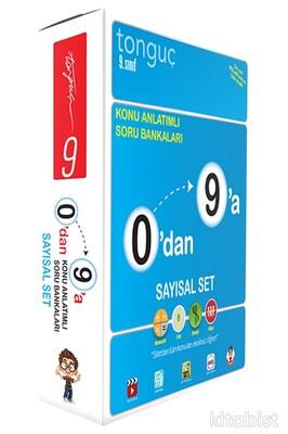 Tonguç Akademi - 9.Sınıf 0'dan 9'a Konu Anlatımlı Soru Bankası Sayısal Set (4 Kitap Takım)