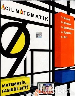 Acil Yayınları - 9.Sınıf Acil Matematik 6'lı Fasikül Set