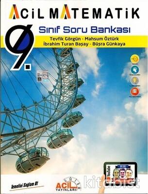 Acil Yayınları - 9.Sınıf Acil Matematik Soru Bankası