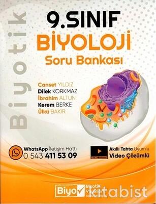 Biyotik Yayınları - 9.Sınıf Biyoloji Biyotik Soru Bankası