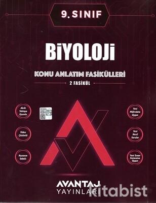 Avantaj Yayınları - 9.Sınıf Biyoloji Konu Anlatım Fasikülleri