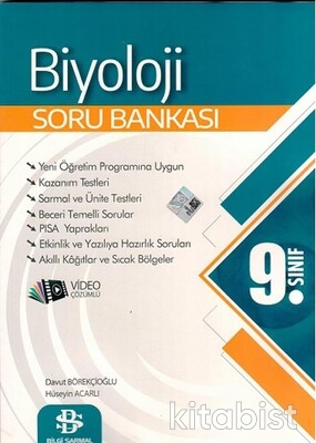 Bilgi Sarmal Yayınları - 9.Sınıf Biyoloji Soru Bankası