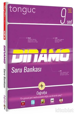 Tonguç Akademi - 9.Sınıf Dinamo Coğrafya Soru Bankası