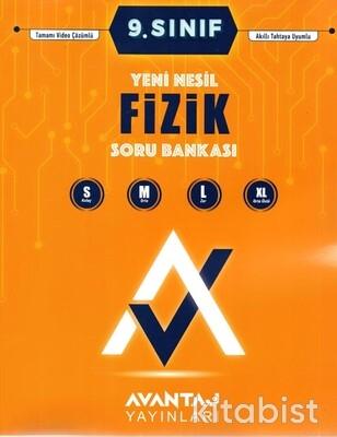 Avantaj Yayınları - 9.Sınıf Fizik Soru Bankası