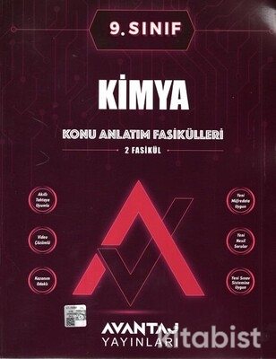 Avantaj Yayınları - 9.Sınıf Kimya Konu Anlatım Fasikülleri