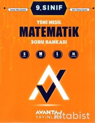 Avantaj Yayınları - 9.Sınıf Matematik Soru Bankası