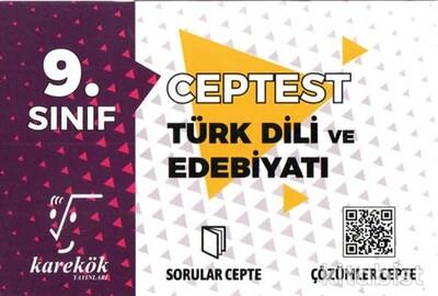 Karekök Yayınları - 9.Sınıf Türk Dili ve Edebiyatı Cep Test