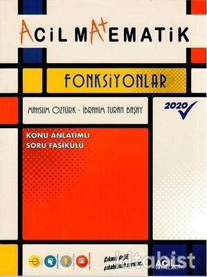 Acil Yayınları - Acil Matematik - Fonksiyonlar Konu Anlatımlı Soru Fasikülü
