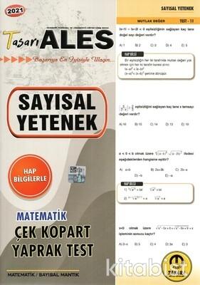 Tasarı Eğitim Yayınları - ALES 2021 Sayısal Yetenek Matematik Yaprak Test