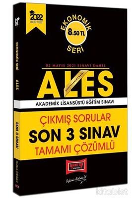Yargı Yayınları - ALES 2022 Ekonomik Seri Tamamı Çözümlü Çıkmış Sorular Son 3 Sınav