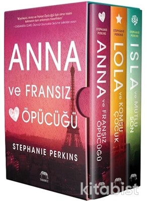 Yabancı Yayınları - Anna-Lola-Isla Kutu Seti - 3 Kitap Takım