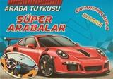 Koloni Çocuk - Araba Tutkusu - Süper Arabalar Çıkartmalarla Boyama