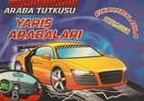 Koloni Çocuk - Araba Tutkusu - Yarış Arabaları Çıkartmalarla Boyama