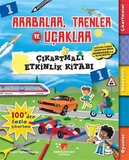 Sabri Ülker Vakfı - Arabalar, Trenler ve Uçaklar - Çıkartmalı Etkinlik Kitabı 1