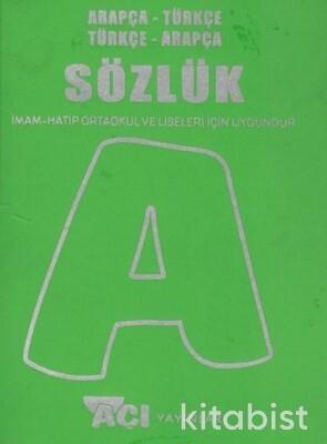 Açı Yayınları - Arapça&Türkçe Sözlük