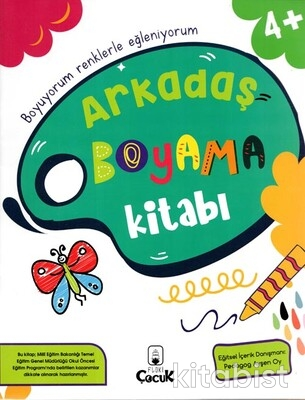Floki Çocuk - Arkadaş Boyama Kitabı