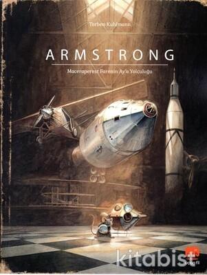 Uçan Fil Yayınları - Armstrong - Maceraperest Farenin Ay'a Yolculuğu