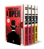 Dokuz Yayınları - Arsen Lüpen Kutulu Kırmızı Set (4 Kitap Takım)