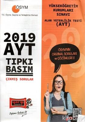 Yargı Yayınları - AYT 2019 Tıpkı Basım Çıkmış Sorular