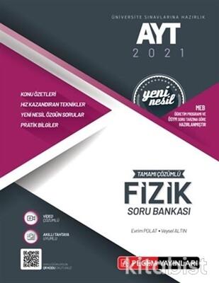Pegem Yayınları - AYT 2021 Fizik Tamamı Çözümlü Soru Bankası