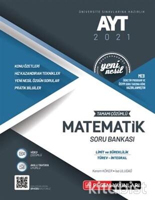 Pegem Yayınları - AYT 2021 Matematik Soru Bankası-Limit ve Süreklilik