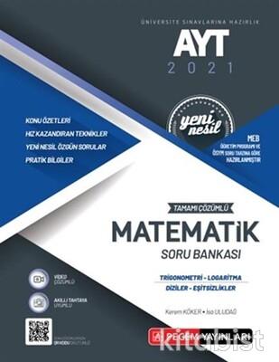 Pegem Yayınları - AYT 2021 Matematik Soru Bankası-Trigonometri-Logaritma