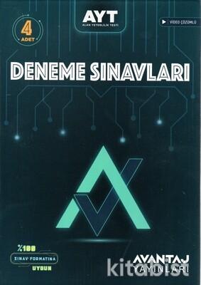 Avantaj Yayınları - AYT 4'lü Deneme Sınavı (Kutulu Set)