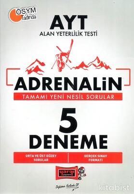 Yargı Yayınları - AYT Adrenalin 5 Li Deneme Sınavı