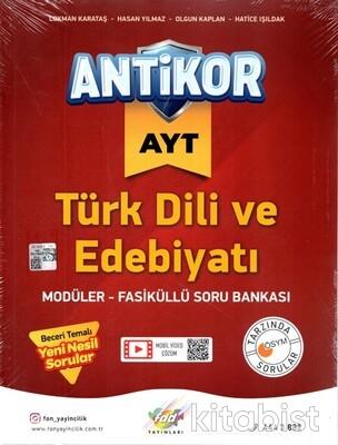 Fdd Yayınları - AYT Antikor Türk Dili ve Edebiyatı Soru Bankası