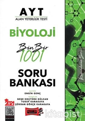 Yargı Yayınları - AYT Biyoloji 1001 Soru Bankası 2021