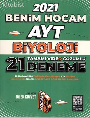 Benim Hocam Yayınları - AYT Biyoloji 21'li Deneme Sınavı