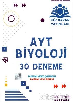 Çöz Kazan Yayınları - AYT Biyoloji 30'lu Deneme Sınavı