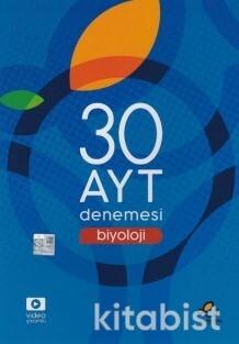 Endemik Yayınları - AYT Biyoloji 30'lu Deneme Sınavı