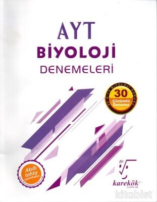 Karekök Yayınları - AYT Biyoloji 30'lu Deneme Sınavı