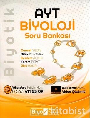 Biyotik Yayınları - AYT Biyoloji Biyotik Soru Bankası