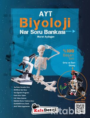 Kafadengi Yayınları - AYT Biyoloji Nar Soru Bankası - Orta ve İleri Düzey