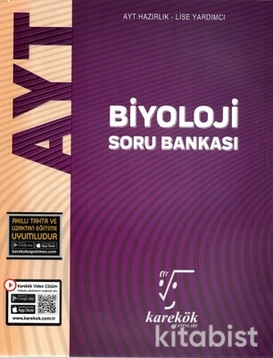 Karekök Yayınları - AYT Biyoloji Soru Bankası-2021