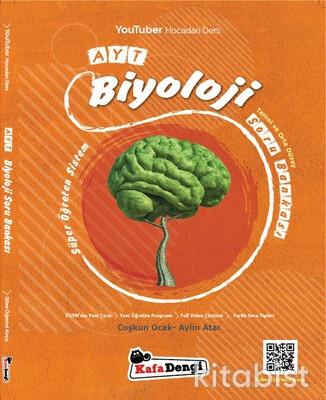 Kafadengi Yayınları - AYT Biyoloji Soru Bankası - Temel ve Orta Düzey