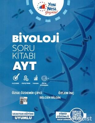 Yeni Nesil Yayınları - AYT Biyoloji Soru Kitabı