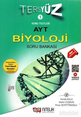 Nitelik Yayınları - AYT Biyoloji Tersyüz Soru Bankası