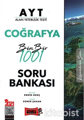 Yargı Yayınları - AYT Coğrafya 1001 Soru Bankası 2021