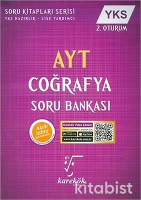 Karekök Yayınları - AYT Coğrafya Soru Bankası