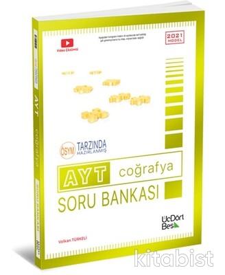 Üçdörtbeş Yayınları - AYT Coğrafya Soru Bankası - 2021