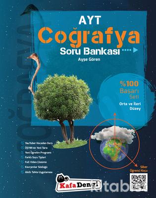 Kafadengi Yayınları - AYT Coğrafya Soru Bankası - Orta ve İleri Düzey