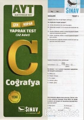 Sınav Yayınları - AYT Coğrafya Yaprak Test