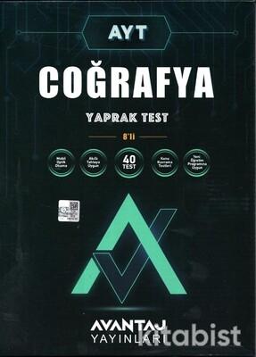 Avantaj Yayınları - AYT Coğrafya Konu Kazanım Yaprak Test (8 Öğrencilik)