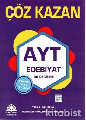 Çöz Kazan Yayınları - AYT Edebiyat 20'li Deneme Sınavı